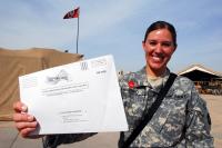 military vote